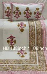 Handblock Bedsheets