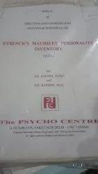 1 Hour Eysenck & maudsley personality inventory test