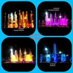 Programable Altra Frist Musical Fountain