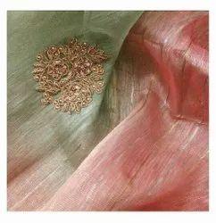 Exclusive Hand Silk Linen Moti Sarees