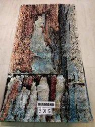 Viscose Diamond Floor Rugs