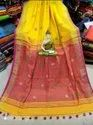 Khadi Cotton Ball Buta Sarees