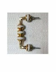 Pull Handle White Ceramic Door Handles, For Home