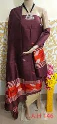 Tussar Silk 3 pc Suit Materials