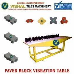 Interlocking Block Making Vibrating Table