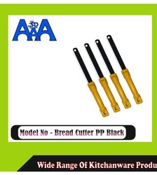 Plastic Bread cutter pp black, For Cutting Veggies