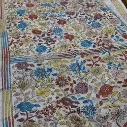 SUB Blended Bangalore Silk All-Over Hand Katha Stitch Saree