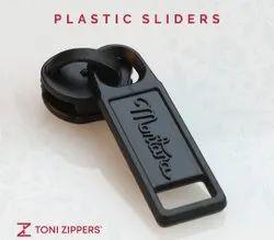 Toni Multicolor 5no PVC Zipper Slider, For Bag
