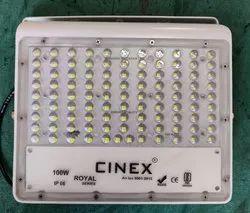 100w lens led flood light