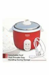 Inalsa electric rice cooker precise 1.5 -600 watt, Red