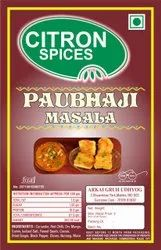 Citron Spices Pavbhaji Masala, Packaging Size: Packet, Packaging Type: PP bags