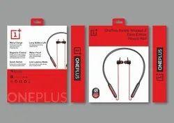Black OnePlus Bullets Z Bass Edition