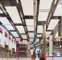 Suspended Fibre Glasswool Acoustic Cloud Ceiling Panel