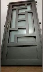 Metal Safety Door, For Home, Size/Dimension: 7*4. 7*3.5