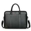 PU Leather Adjustable Strap Handle Men Briefcase Hot Sale Vintage Western
