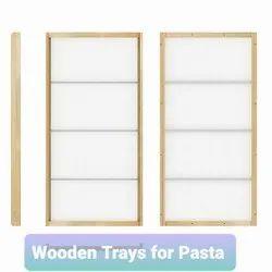 Wooden Pasta Trays