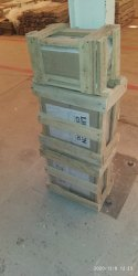 Brown Timber Wood Wooden Packing Box, Weight Holding Capacity(Kg): 70-300 Kg