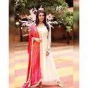 Bhandhani Silk Moti Less Dupatta