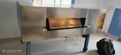 Gas Deck Oven Bakery Machine, Size: Small/Mini