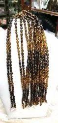 Tourmaline beads petrol