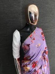 Ladies designer  devsena satin silk