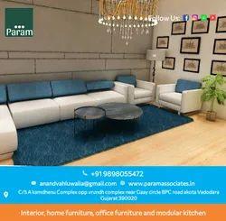 Residential Interior Designing Service 3BHK