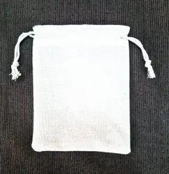 Cotton Drawstring Pouch Bag