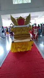 Wedding entrance doli