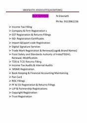 Statutory Auditors Services, Gold, Online