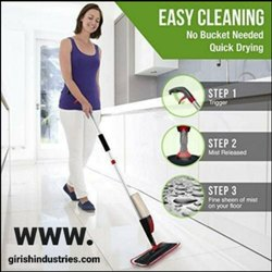 Spray Mop Set Floor Cleaning Without Bucket