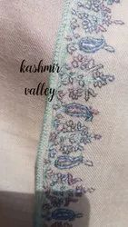 Delicately Hand Embroidered, Hand Woven Pashmina Shawl