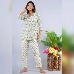 Cotton Ladies Nightwear