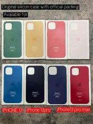 Multi colour Apple Iphone 13 Pro Max Silicon Case With Box
