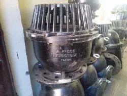 Black Cast Iron Kirloskar Foot Valve, Model Name/Number: KBLF182, Size: 50 To 500mm