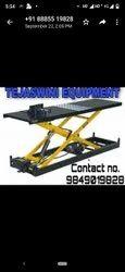 2 Wheeler Hydraulic Service Ramp