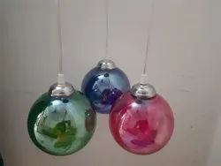Crystal Glass Lighting Colored Globe For Beautiful Decorations