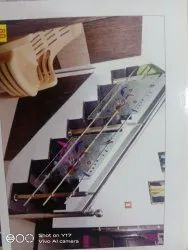 Stainless Steel Polished Stair Railings
