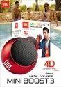 JBL Mini Boost 3 4D Metal Bluetooth Speaker