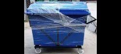 660 lldpe wheeled dustbin