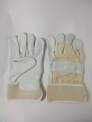 Male Chrome Grain Leather Canadian Gloves, 6-10 Inches, Finger Type: Full Fingered
