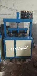 Triple Die Hydraulic Paper Plate Making Machine