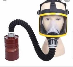 Black Drager Gas Mask industrial for ship