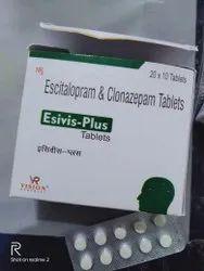 Escitalopram 10 Mg Clonazepam 0.5 Mg