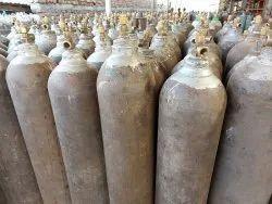 Stainless Steel 45 Litre Used Oxygen Cylinder, 150 Bar, 75 Kg