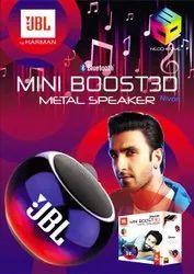 JBL Mini Boost 3D Metal Bluetooth Speaker