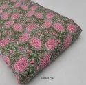 Hand Block Bagru Print Fabric