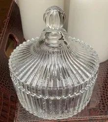 Round Glass Crystal Bowl