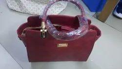 Pbf Sholder Ladies Pu Leather Handbag, For Daily Use, Gender: Women