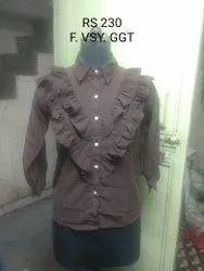 Casual Wear Full Sleeves Ladies Designer Top