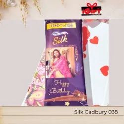 Cadbury Chocolate In Personalized Wrapper Placed In Designer Handmade Card (38)